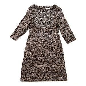 So Slimming By Chico's Jaguar Quinn Sheath Dress